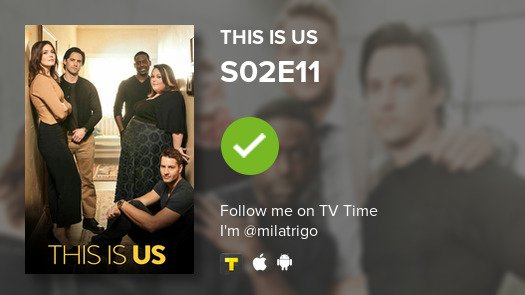 I've just watched episode S02E11 of This...