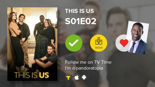 I've just watched episode S01E02 of This...
