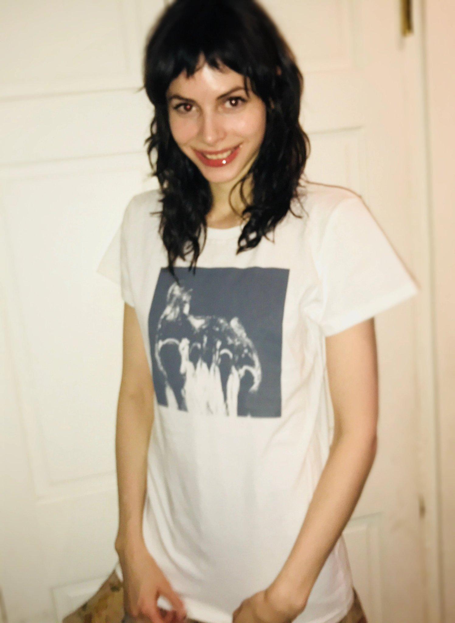 Charlotte Kemp Muhl in the t-shirt I made. https://t.co/xu5GfxA3rn