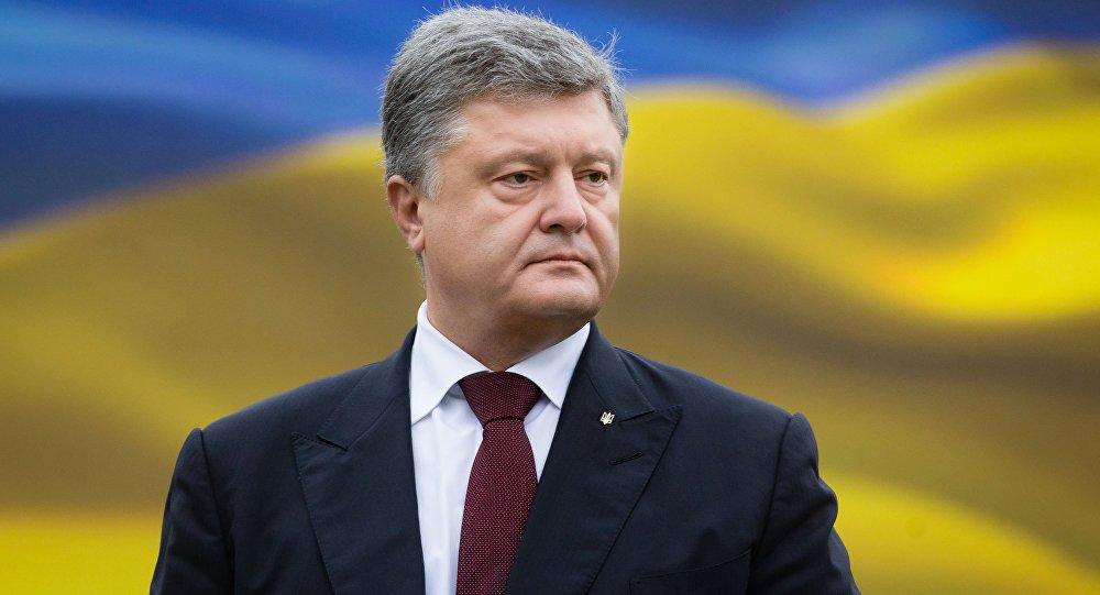 Poroşenko, Donbass yasasını imzaladı htt...