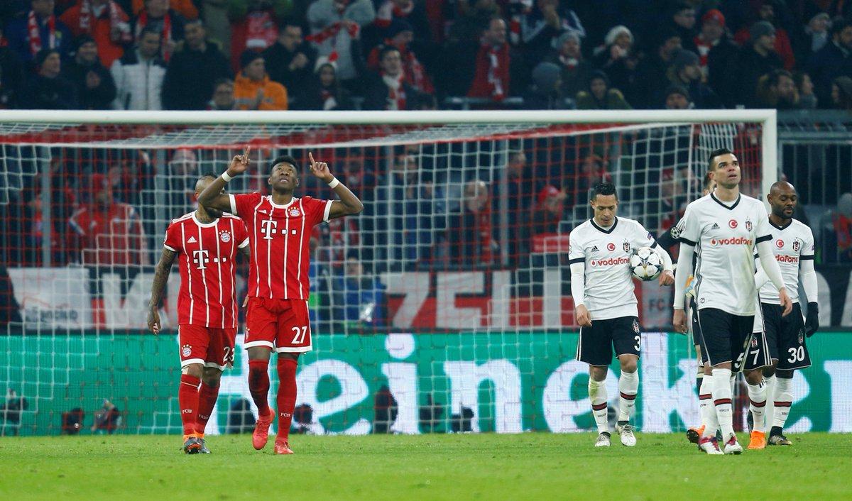 Karşılaşma 5-0 Bayern Münih üstünlüğü il...
