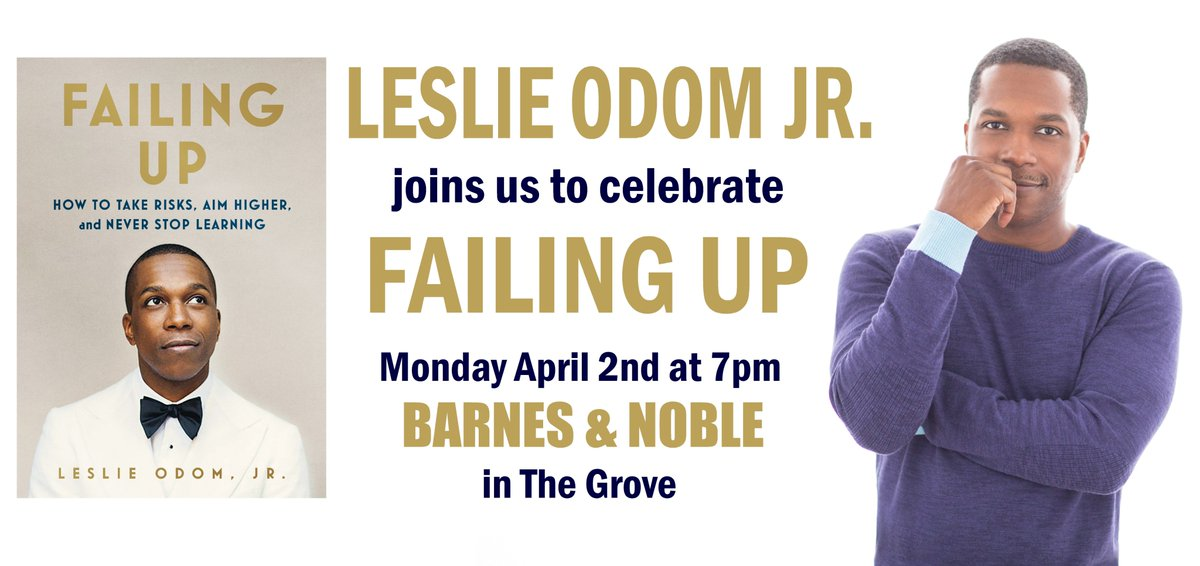 Barnes Noble Events The Grove On Twitter Just Announced Tony