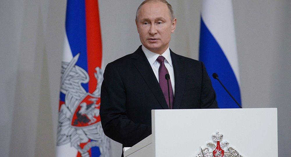 Putin'in Federal Meclis konuşması 1 Mart...