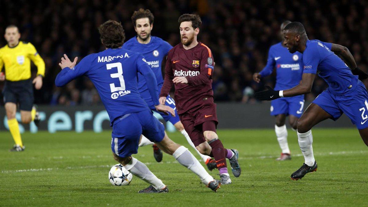 Chấm điểm: Chelsea 1-1 Barcelona