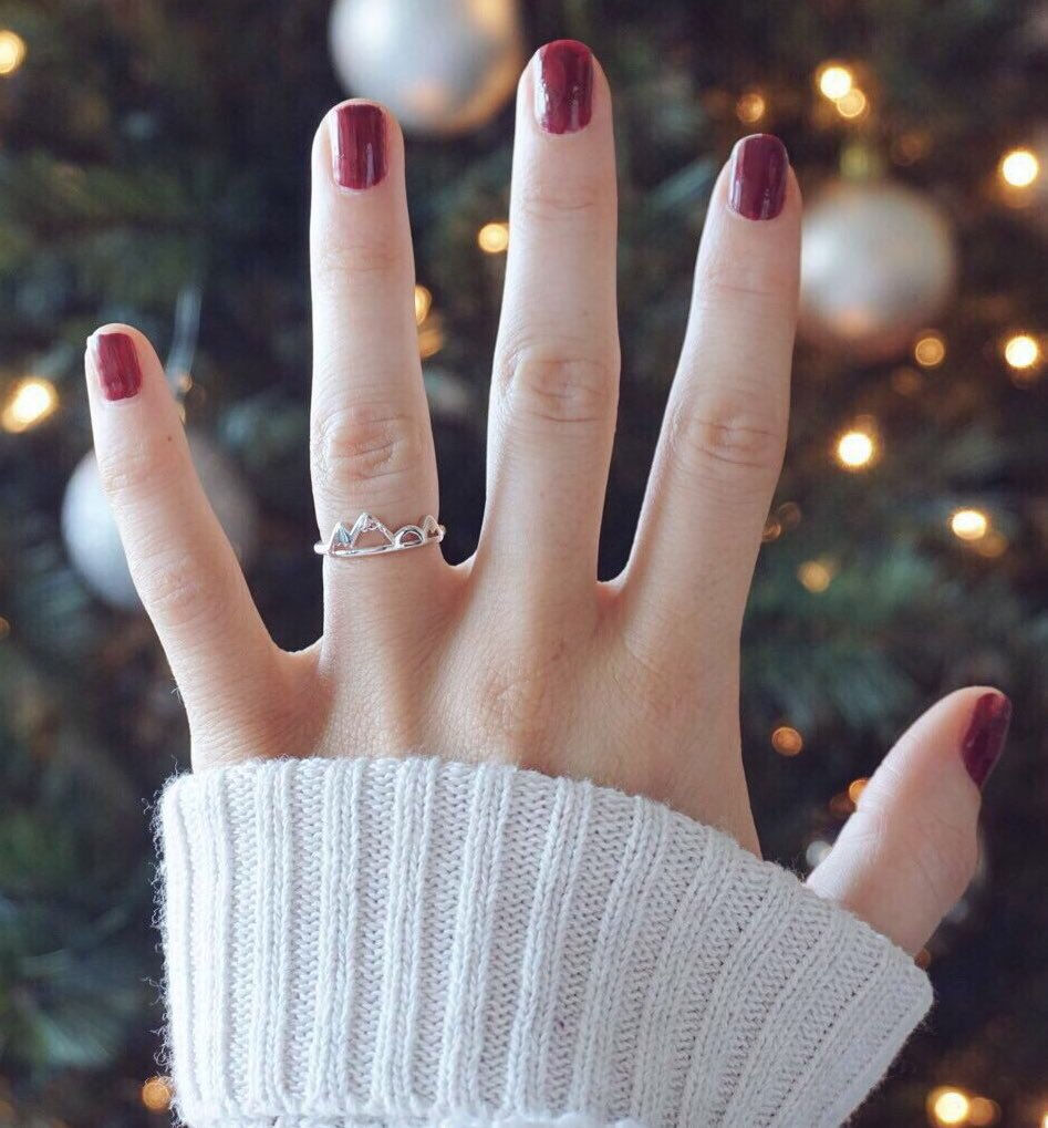 How adorable is my high & low mountain ring from alphaaccessories.co/collections/al…