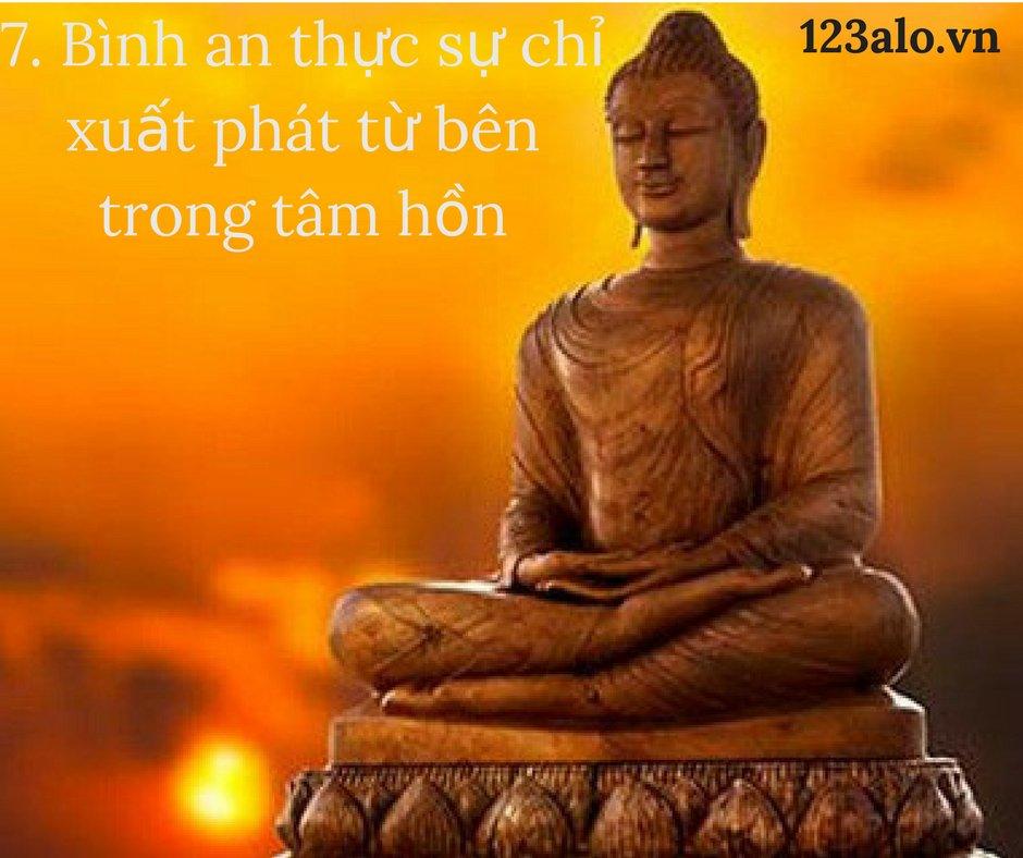 """... là một từ mang lại sự an tâm"""". """"Những ai không có ác cảm thì chắc chắn  sẽ tìm được bình an"""". #123alo #ducphatday pic.twitter.com/0XLx3A8gyx"""