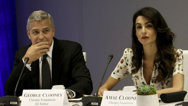 George and Amal Clooney will join gun control march organized by survivors of Florida school shooting https://t.co/RFZKAbVHUG