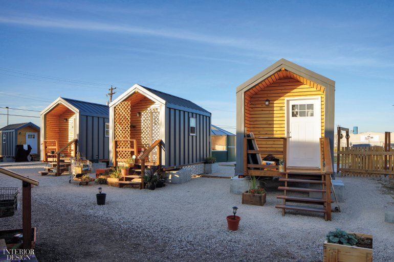 Tiny houses for temporary occupancy offe...