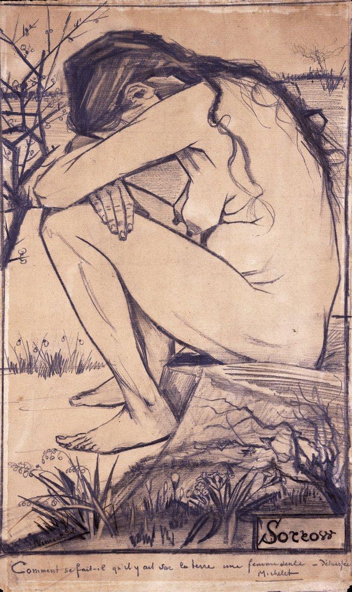 Resultado de imagen de Vincent Van Gogh, el dolor (sorrow) The New Art Gallery Walsall, Birmingham
