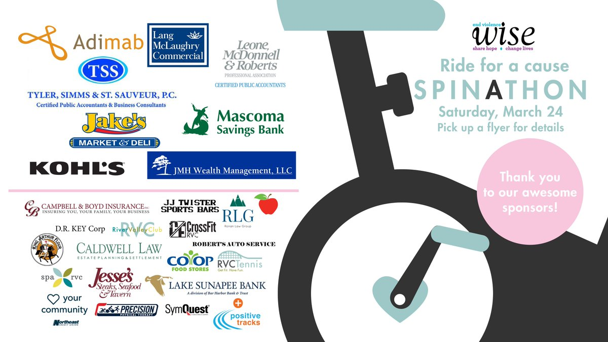 River valley club on twitter we are nearing our annual spinathon join us saturday march 24 from 9am 1pm in the spin studio registration closes when all bikes are filledpicitterhagoa0j21s ccuart Gallery