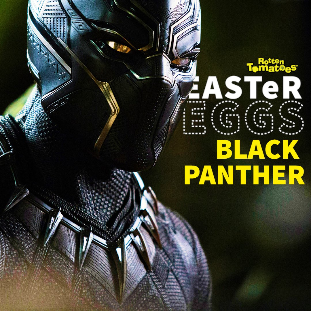 Easter Eggs in #BlackPanther - including references to James Bond + more