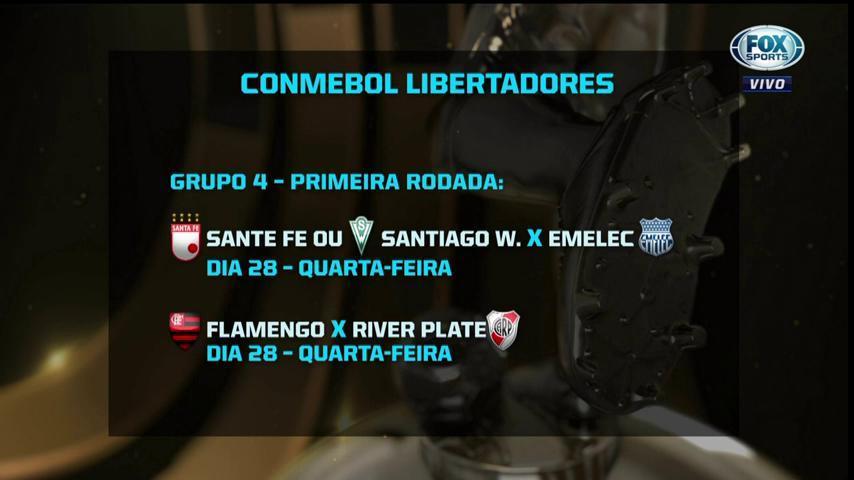 🇨🇴🇨🇱 Quem passar aqui, já pega o Emelec na semana que vem! #LibertadoresFOXSports