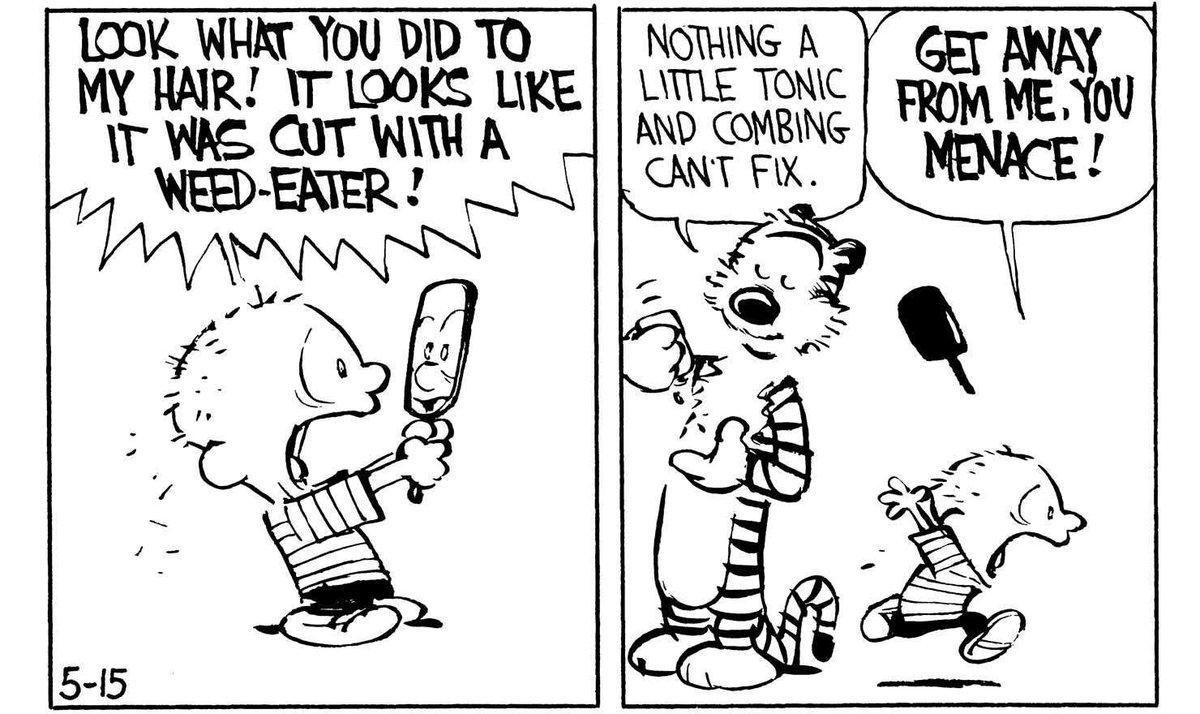 Calvin And Hobbes On Twitter Lol