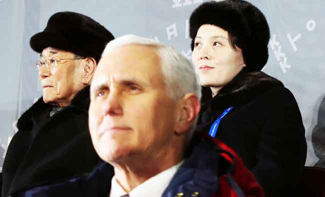 North #Korea canceled meeting with #Pence at #Olympics — #US officials https://t.co/UpbrQg0wHJ
