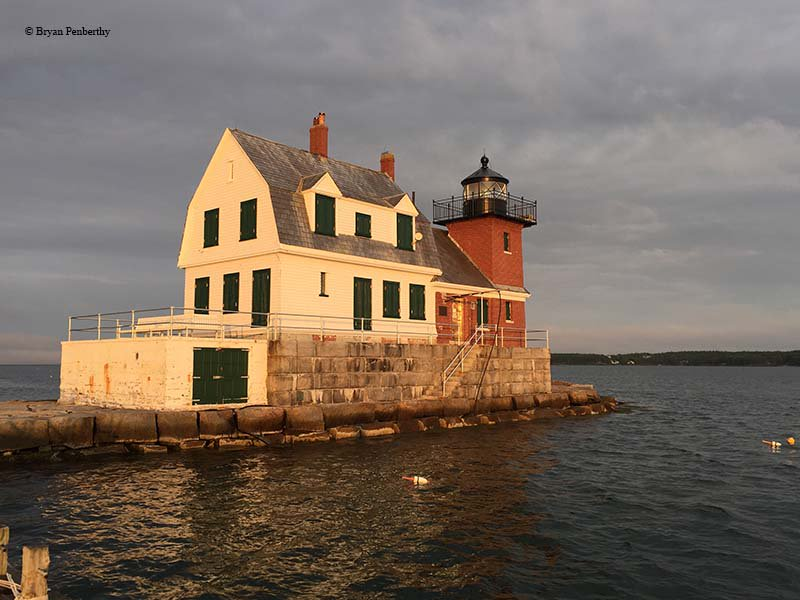 test Twitter Media - From 1881 to 1899, the Army Corps of Engineers erected a significant breakwater in #Rockland, #Maine, affording protection to ships at anchor. By 1902, the #Rockland Breakwater #Lighthouse marked the entrance to the harbor. #RocklandHarbor  https://t.co/0EbN6n6k46 https://t.co/2fv64BfvBt
