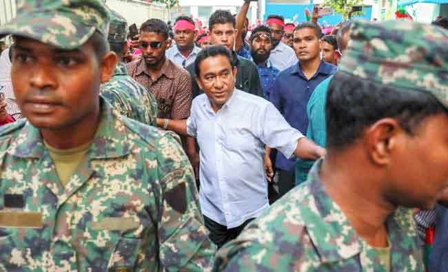 #Maldives parliament approves extension...