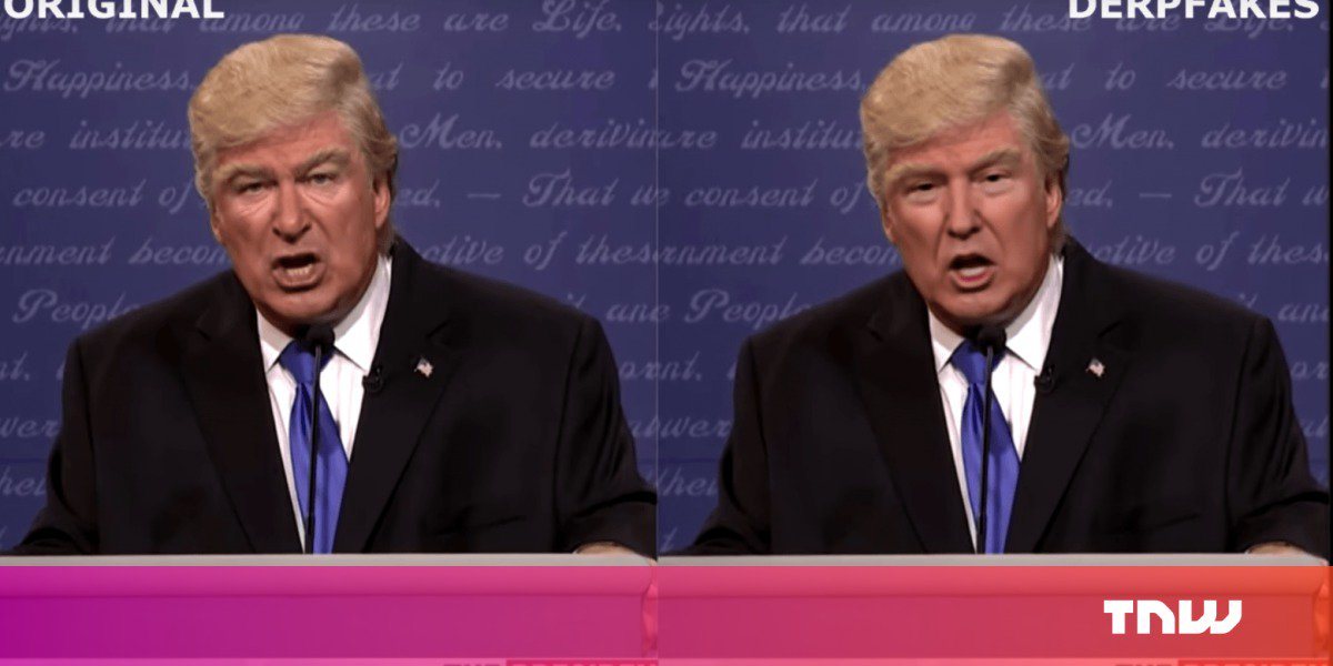 Convincing Trump Donald Fake Yet Most In Scoopnest Nails Deepfakes Algorithm
