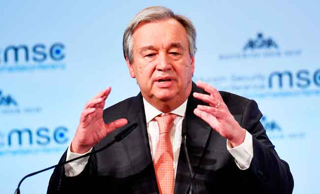 #UN chief 'deeply alarmed' by Eastern #G...