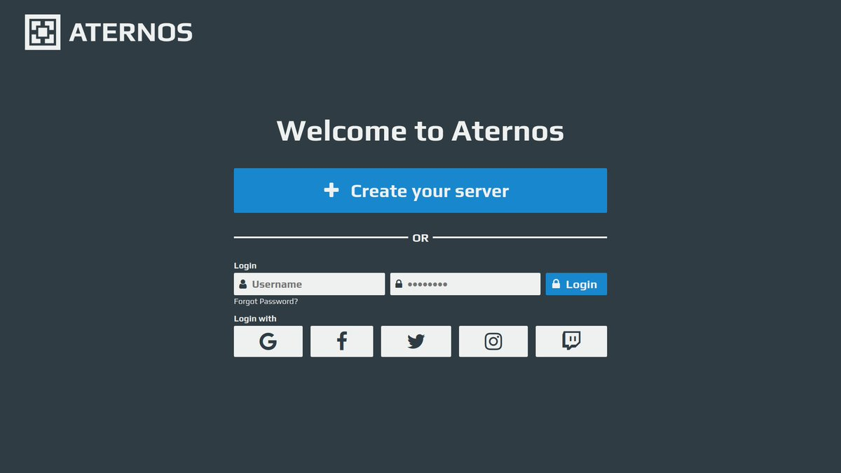 How To Login To Aternos