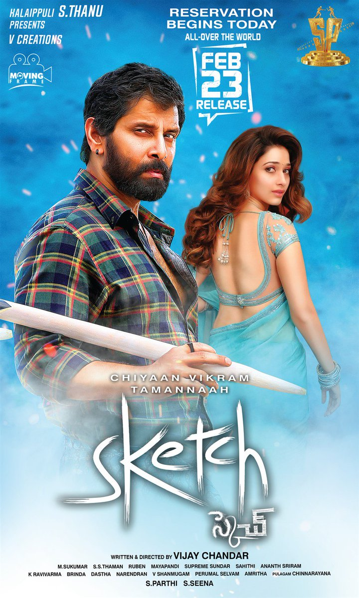Sketch 2018 Download And Watch Full Tamil Movie In Dual Audio
