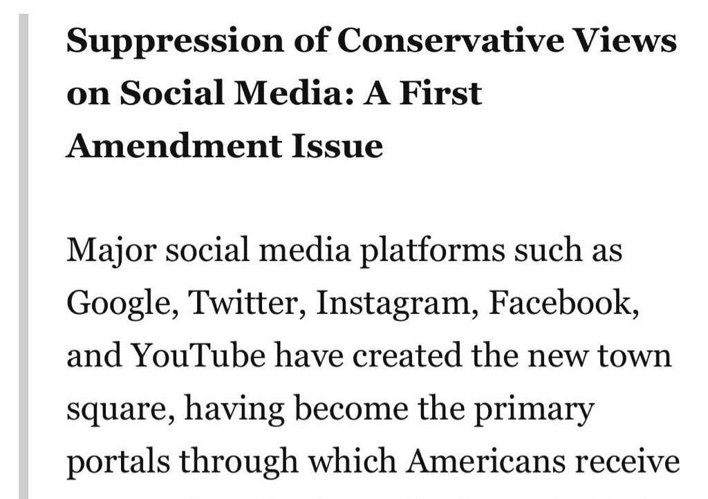 """@CassandraRules The panel is about the """"suppression of conservative views on social media.""""  I must have missed the memo that said conspiracy theories about school shooting victims are now """"conservative views.""""  🙃"""
