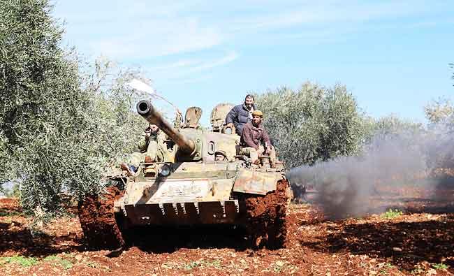 #Turkey shells #pro-Syrian regime fighte...