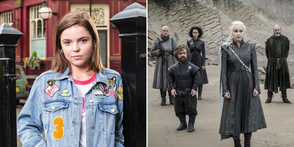 EastEnders' Courtney Mitchell is heading to Westeros as actress Alice Nokes will appear in Game of Thrones season 8.  https://t.co/NYnXIiUPDJ