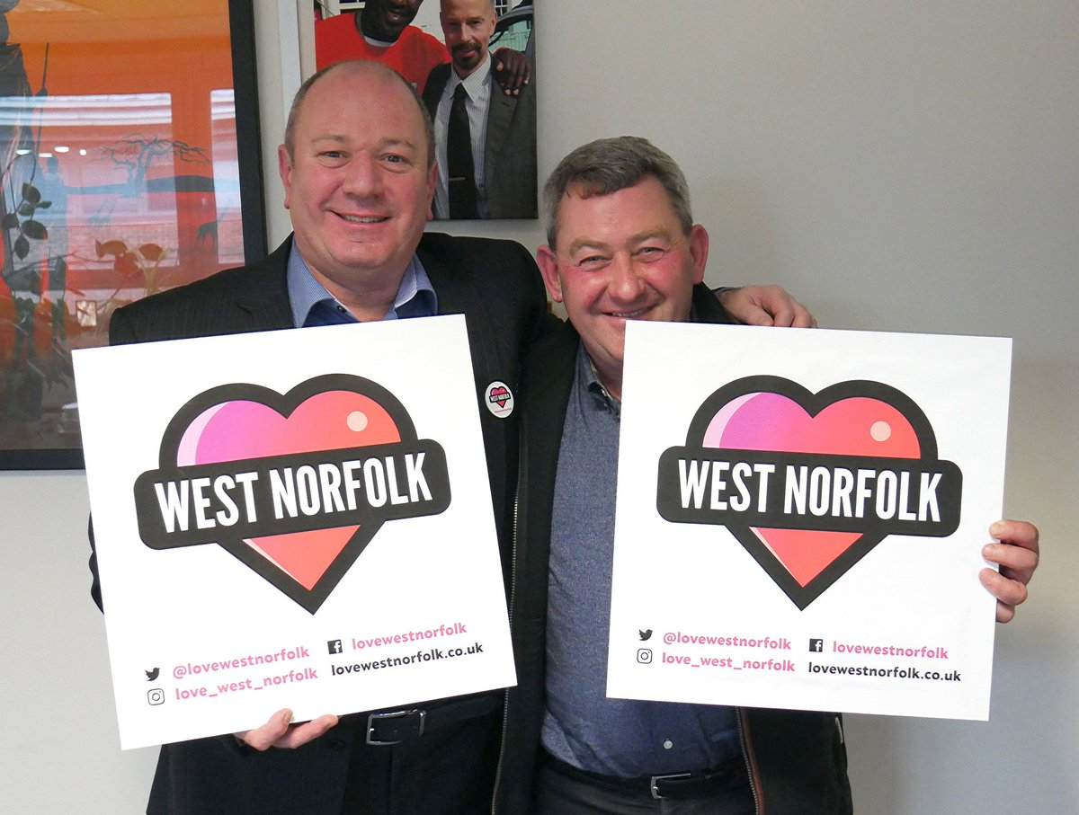 We were so pleased to hear why Robin Brundle and Buster Chapman #lovewestnorfolk Robin said: No matter where you go, I love coming home to West Norfolk. Buster said: I wouldnt live anywhere else. Thanks for your support for #lovewestnorfolk!