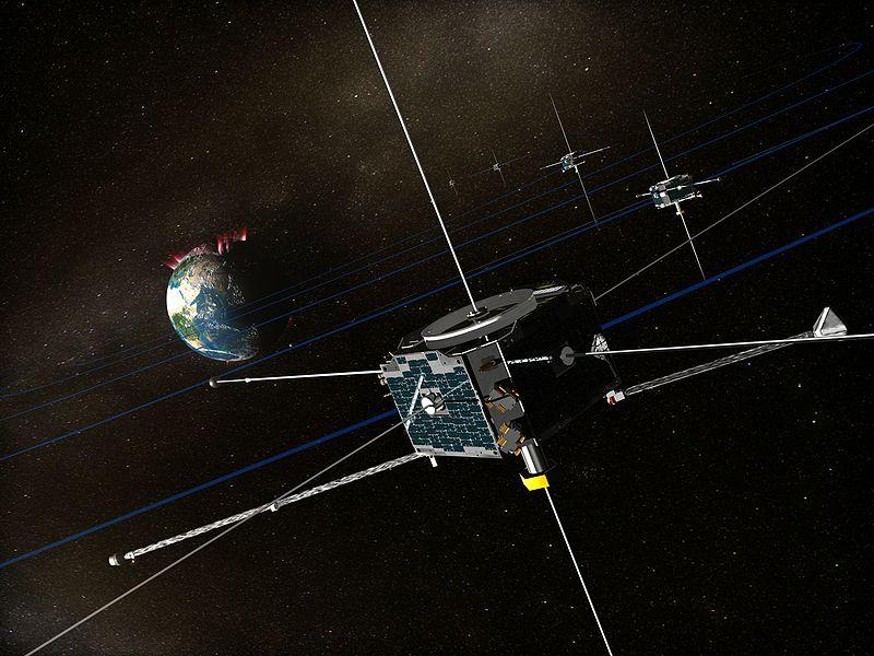 【テミス】(アメリカ)5機で1つの人工衛星。ここロマンポイント1サブストーム(オーロラ嵐)の引き金となる現象を特定するために打ち上げられた5機のうち2機は月に派遣されて「アルテミス」に改名された。ここロマンポイント2