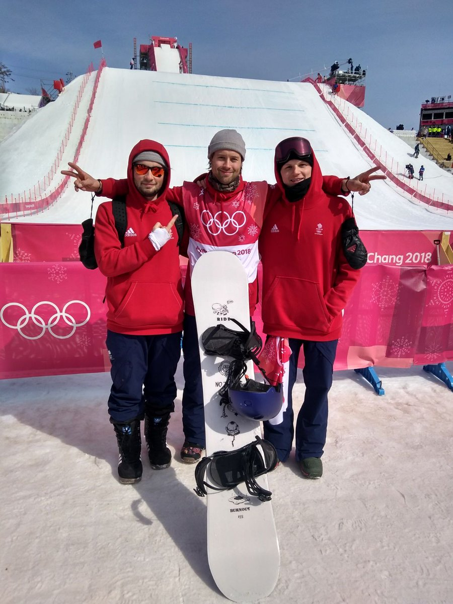 .@billymorgan89 get's through the qualification and will be back in action in the #BigAir final on Friday 🤙  Leave your well done messages 👇   #WeAreTheGreat 🇬🇧