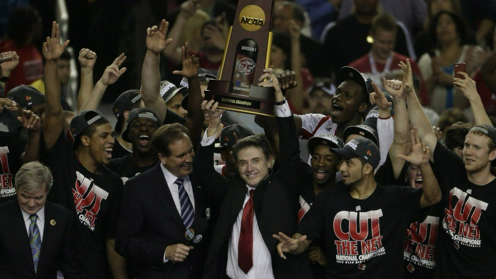 NCAA strips University of Louisville of 2013 national basketball championship title https://t.co/cXTDQ2XMIx