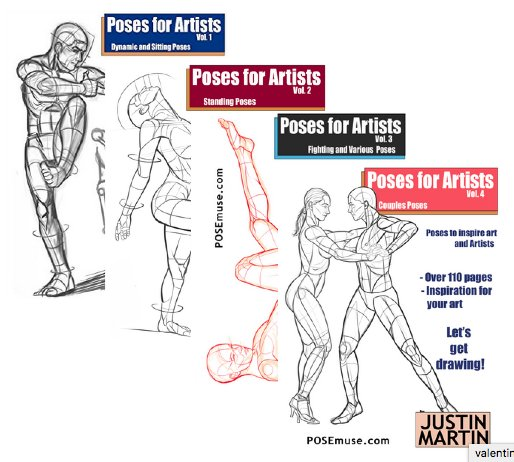 Posemuse On Twitter Creating New Poses Weekly For The Next Book