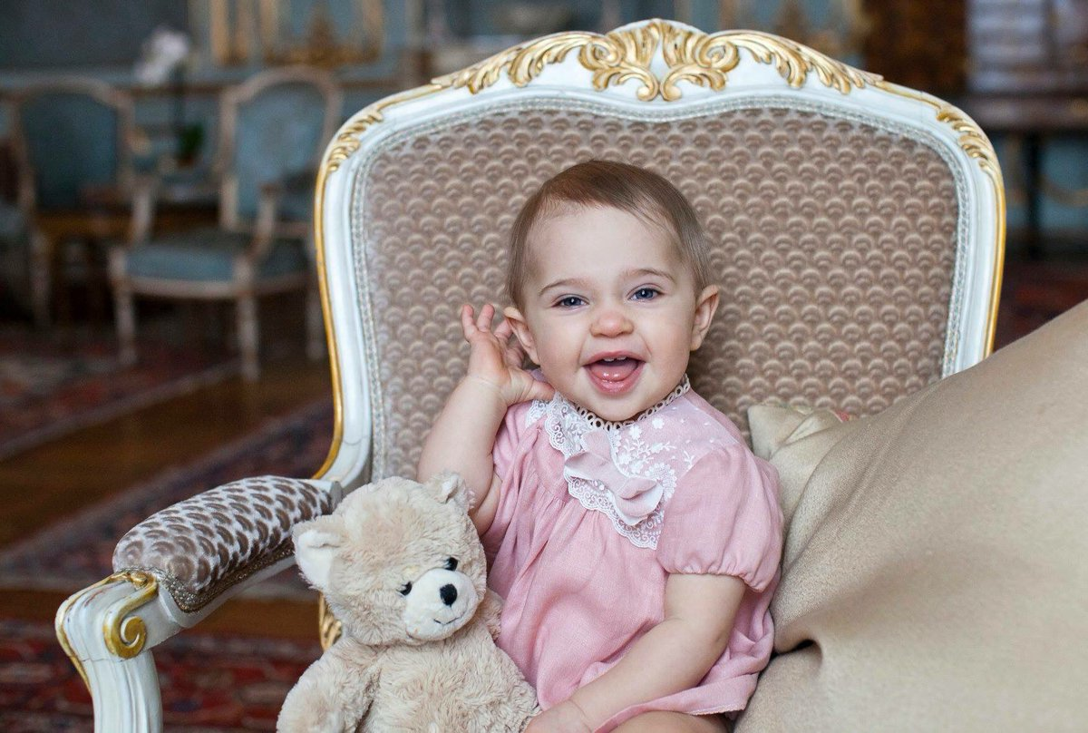 Princess Leonore through the years. 📸: h...