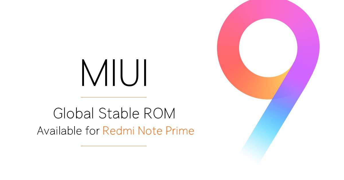 Miui india miuiindia twitter miui 9 global stable rom v9230 is released for all our redmi note prime users for the complete changelog and download link check the thread here stopboris Images