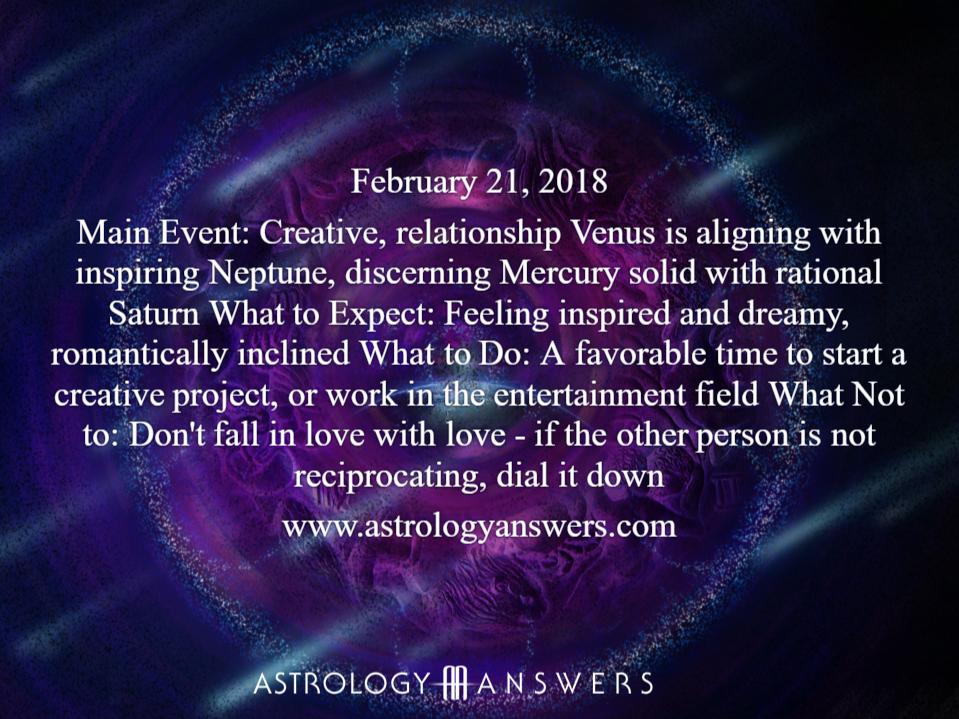 21 of february astrology