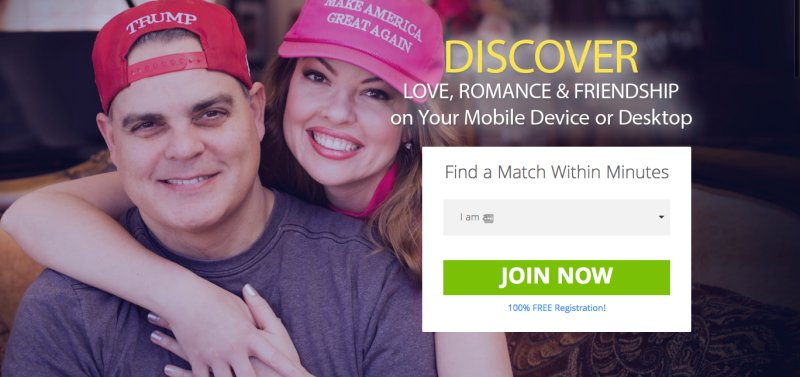 Anti-gay and pro-Trump dating site featured a convicted paedophile on its homepage https://t.co/YMMlA2PQHU