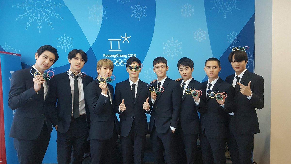 OMG!!!!! @weareoneEXO #EXO #엑소 #ClosingCeremony #PyeongChang2018