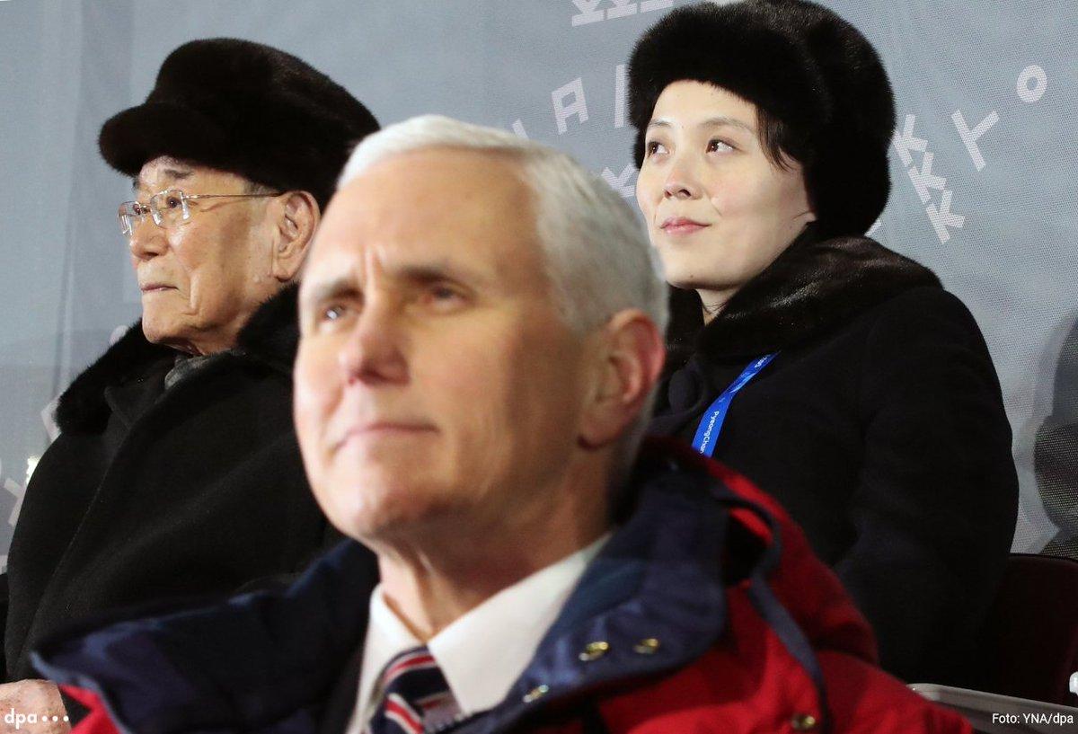 Nordkoreaner zeigten US-Vizepräsident Pence kalte Schulter: Geheimtreffen mit Kim Jong Uns Schwester abgesagt https://t.co/2EFjiLoKU5 @tagesspiegel (dmo)