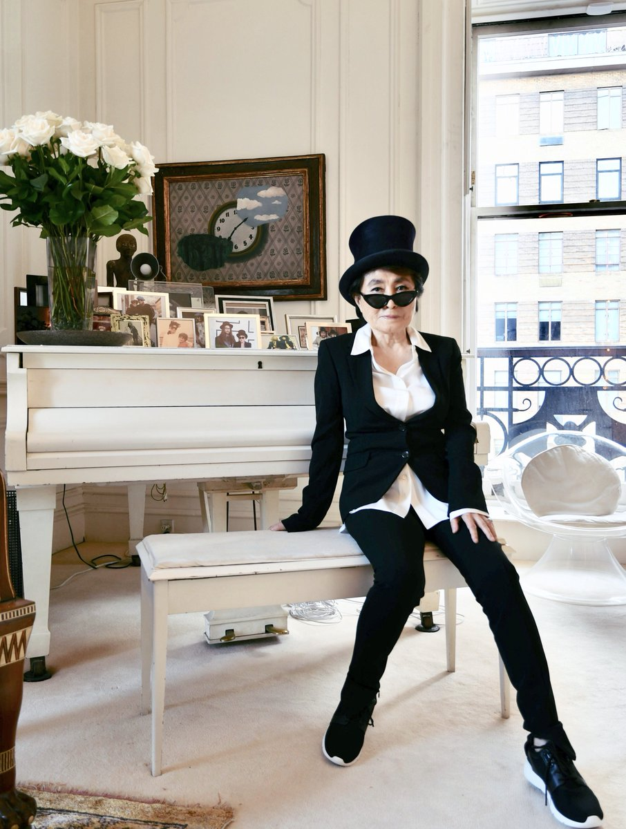 I love you all and therefore it was very special that I got so many beautiful words from you on my birthday. Thank you thank you thank you. I feel very blessed. love, yoko