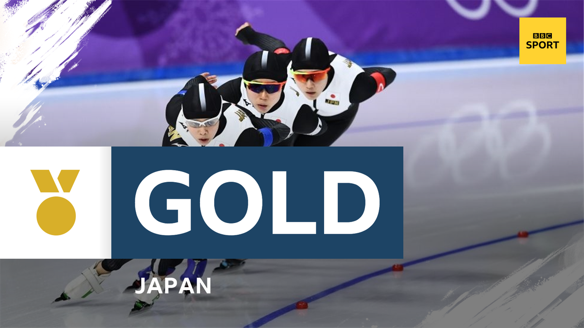 Wow! What a comeback!  Japan come from behind to snatch gold in the ladies' team pursuit final! 🥇  Watch now on @BBCRedButton and here: https://t.co/BnKXjV0ao8  #pyeongchang2018 #bbcolympics