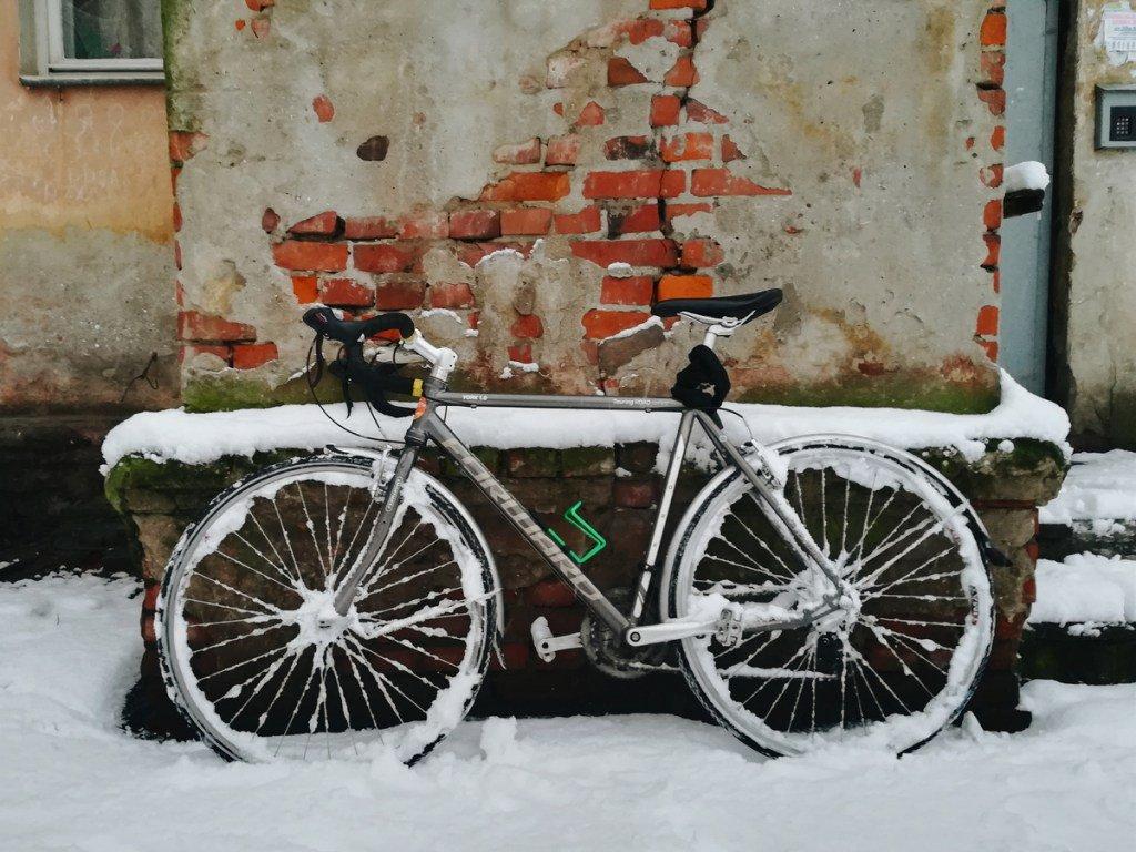 хотите узнать, картинка велосипед и зима сих пор борту