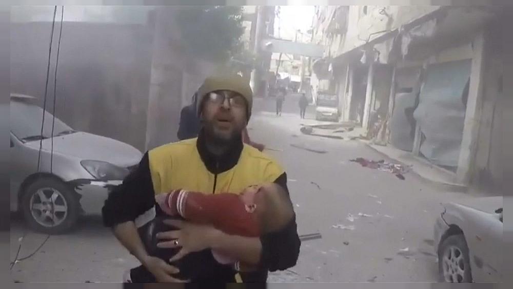 El Ejército sirio recrudece sus bombarde...