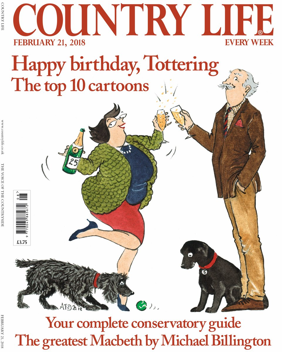 TOTTERING-BY-GENTLY COMIC STRIP NOW IN ITS 25TH YEAR! HAPPY ANNIVERSARY!