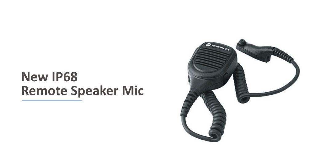 Product News - NEW @MotSolsEMEA IMPRES™ IP68 Remote Speaker Microphone (RSM) With Volume Toggle Switch Released https://t.co/VpKC7b1mhw  #MOTOTRBO #TETRA #IP68Rated #MotorolaSolutions