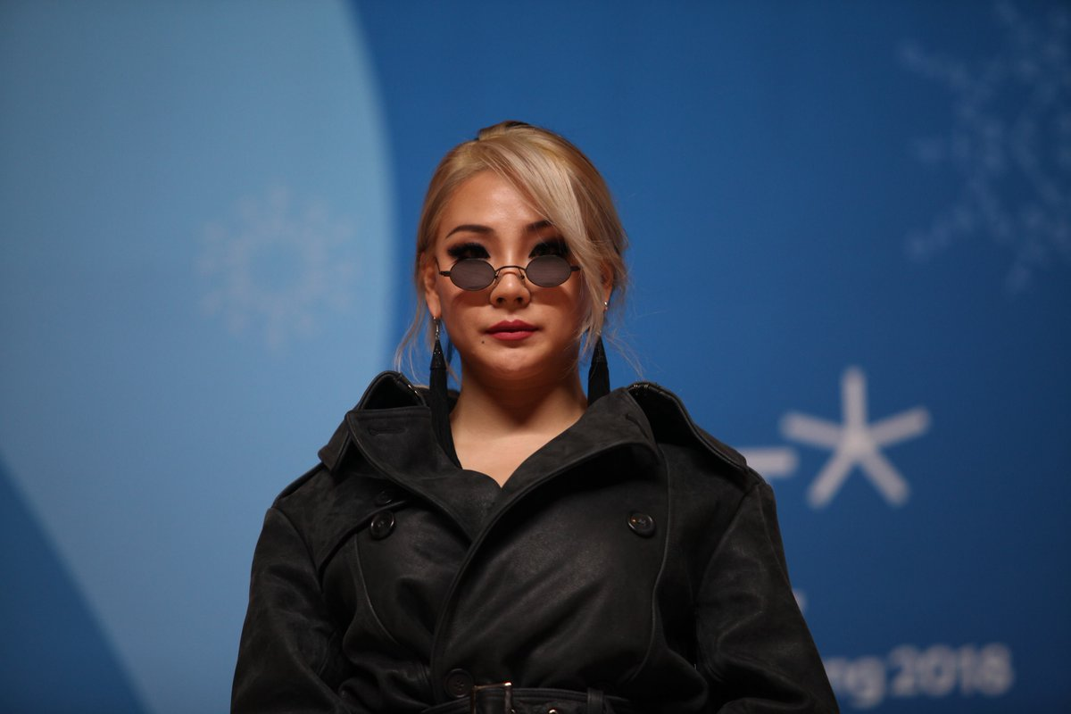 #CL will also be performing at the #ClosingCeremony! 😍😍 #PyeongChang2018 #Kpop