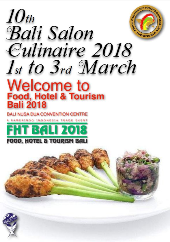 test Twitter Media - Food, Hotel and Tourism Bali 2018 has begun! The Bali Salon Culinair will take place alongside the local and international exhibitors - where chefs and experts in the industry will showcase their skills. https://t.co/4XjGnmge2R #FHTB2018 #Bali #Export #exhibition https://t.co/T8PlXgxjw4