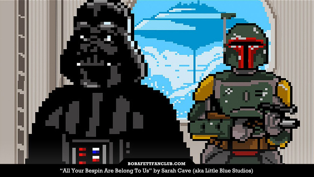 Boba Fett Fan Club On Twitter All Your Bespin Are Belong To Us