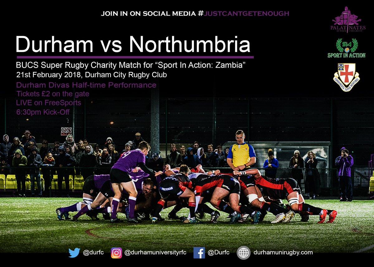 Durham University Rfc On Twitter Looking Forward To Seeing