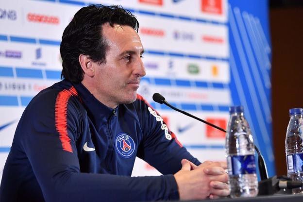 #Decla du coach parisien @UnaiEmery_ qui appelle à l\