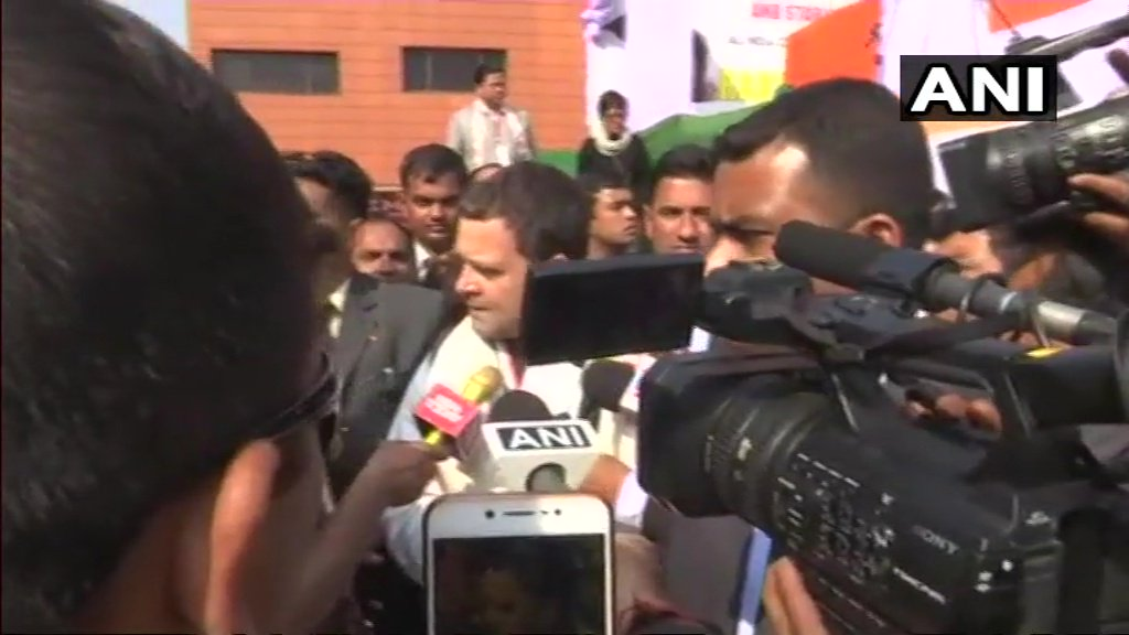Narendra Modi is not against corruption, he is an instrument of corruption: Rahul Gandhi in Shillong. #PNBScam #NiravModi